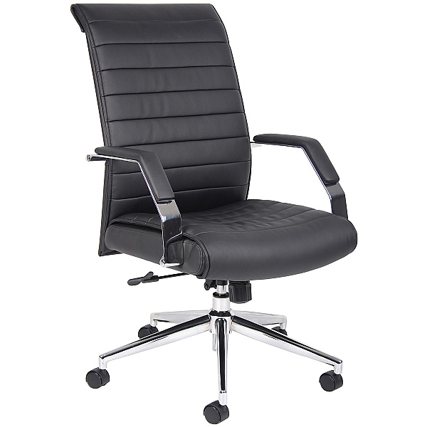 Identity High Back Leather Manager Chair