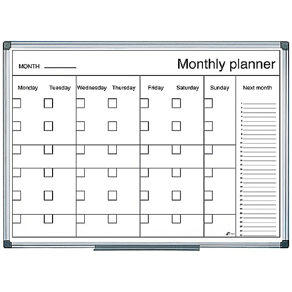 Bi-Office Monthly Planner