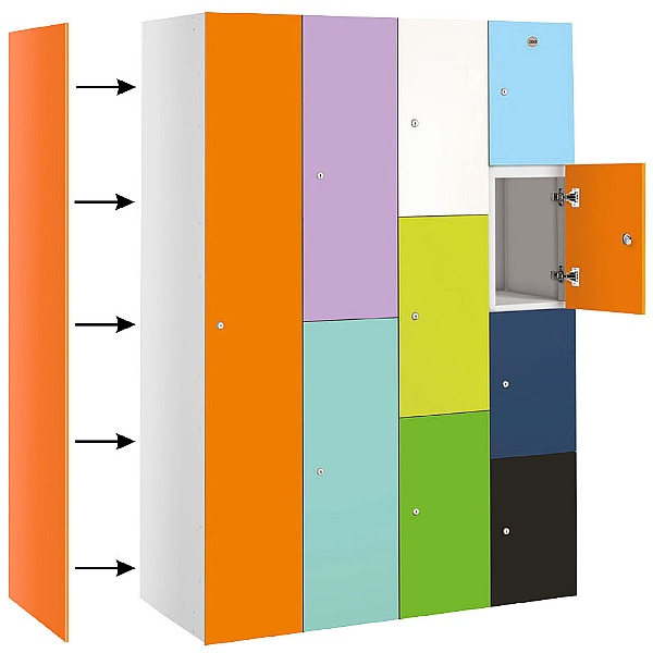 BuzzBox Locker End Panels