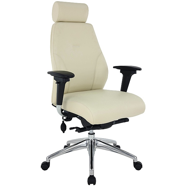 iTask 24-7 Executive Premium Leather Posture Chairs