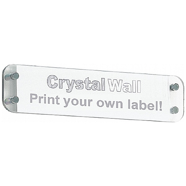 Crystal Wall Nameplate Board