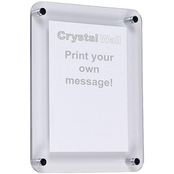 Cyrstal Wall Notice Frame