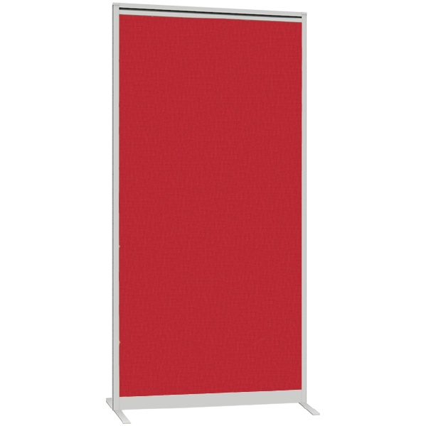 Lumiere Acoustic Straight Freestanding Partition Screens