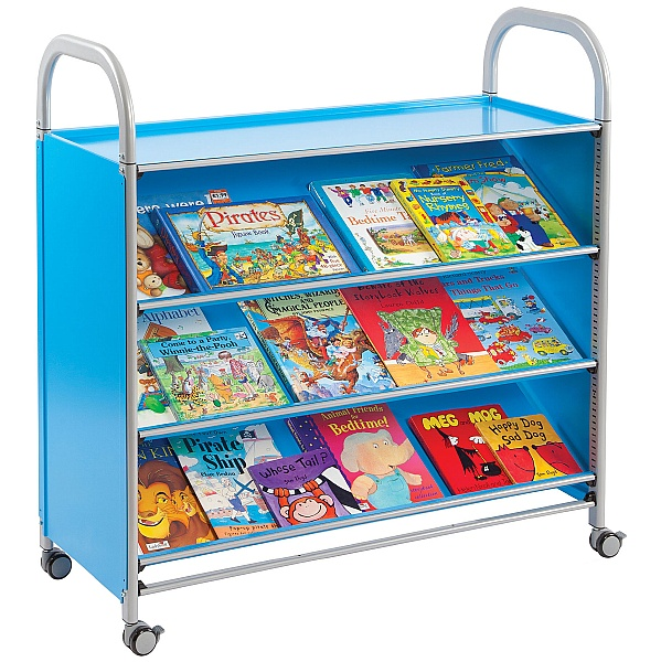 Gratnells Callero Tilted Shelf Library Storage Unit
