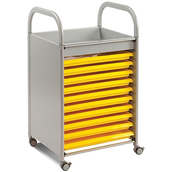 Gratnells Callero Art Storage Trolley With Trays