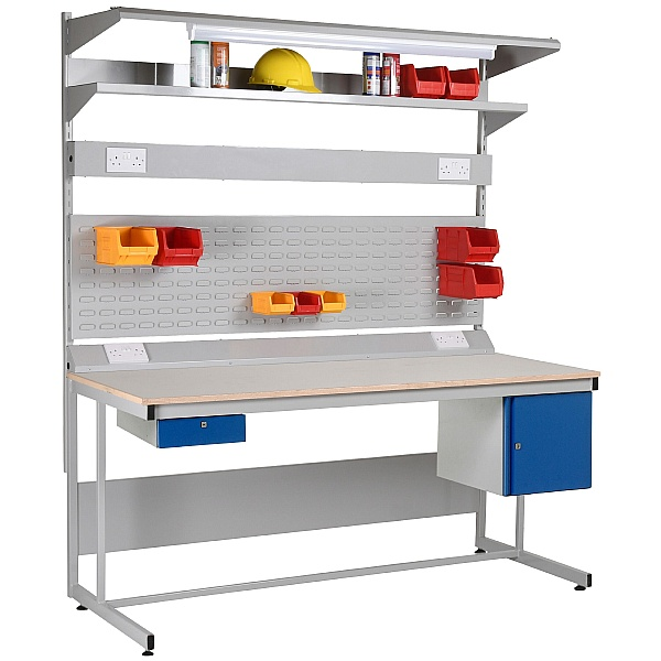 Redditek 456 Cantilever Workbench Bundle Deal