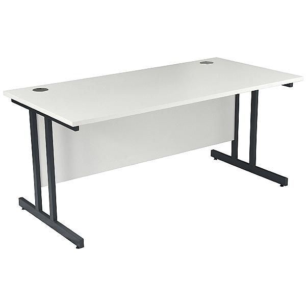 NEXT DAY Karbon K3 Rectangular Deluxe Cantilever Desk