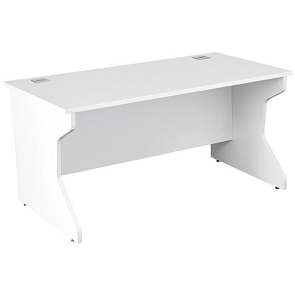 NEXT DAY Karbon K4 Rectangular Panel End Desk