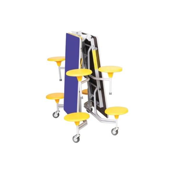 Rectangular 8 Seat Folding Dining Units