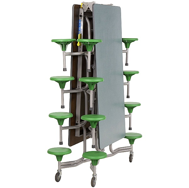 Rectangular 16 Seat Folding Dining Units