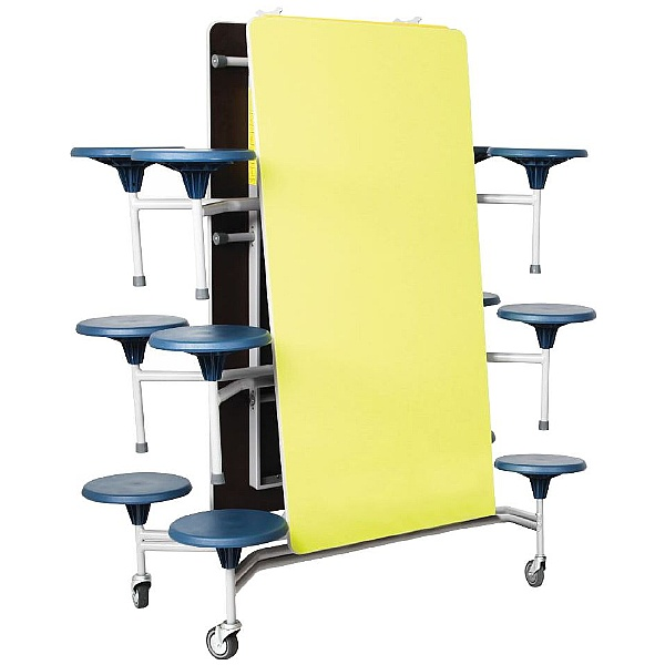 Rectangular 12 Seat Folding Dining Units