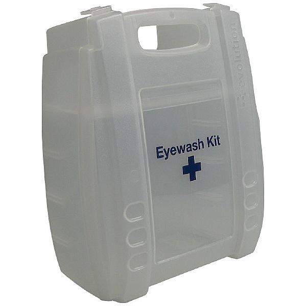 Clear Eyewash & First Aid Cases - Empty
