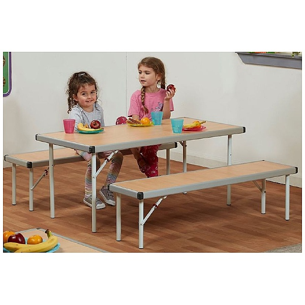 Fast Fold II Table and Benches Bundle Deal