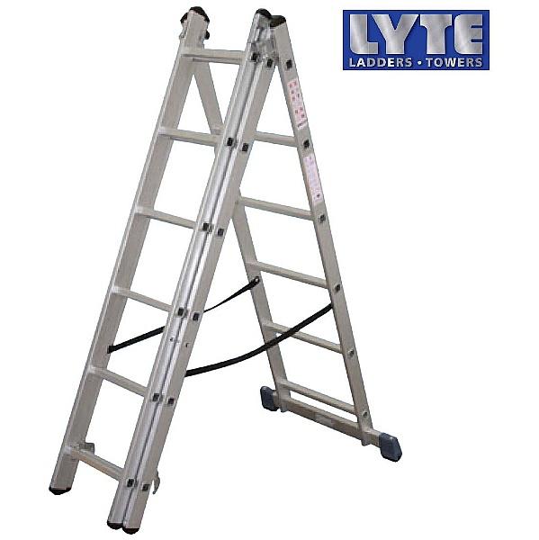 Lyte Aluminium Combination Ladder