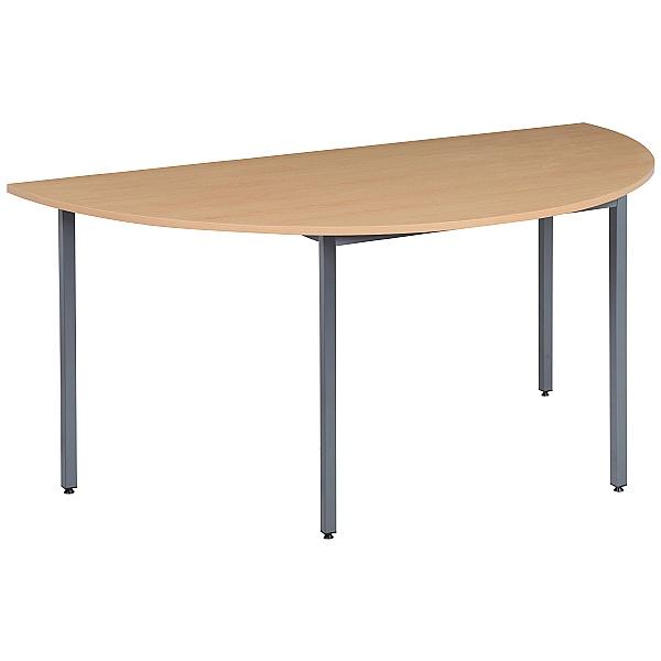 NEXT DAY Karbon Semi Circular Flexi Tables