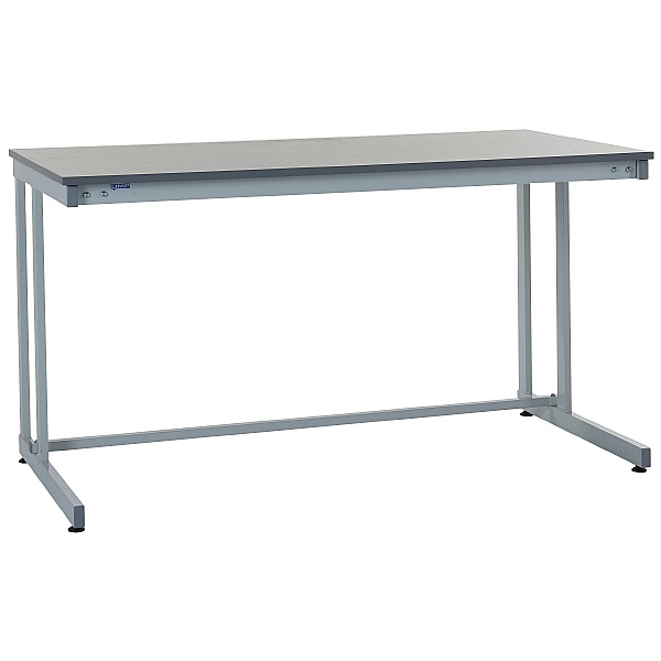 Express Cantilever Workbenches - Laminate Worktop