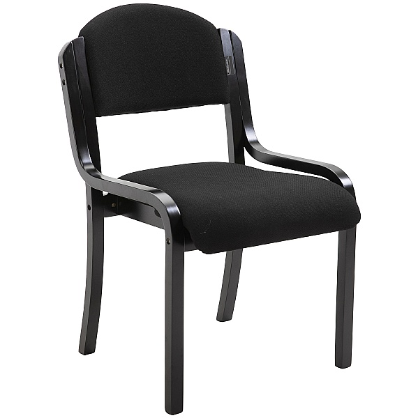 Devonshire Black Frame Stacking Chairs
