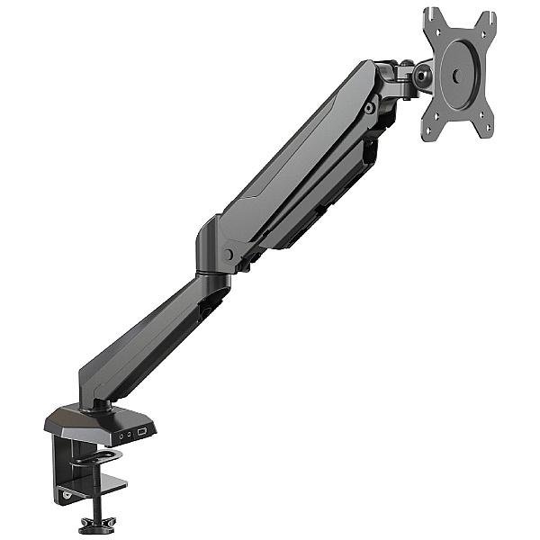 NEXT DAY Karbon G1 Black Single Monitor Arm