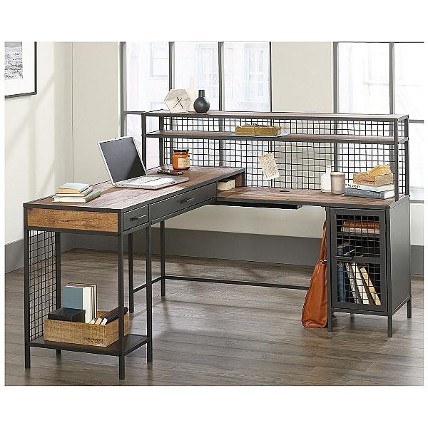 Actuary L-Shaped Computer Desk
