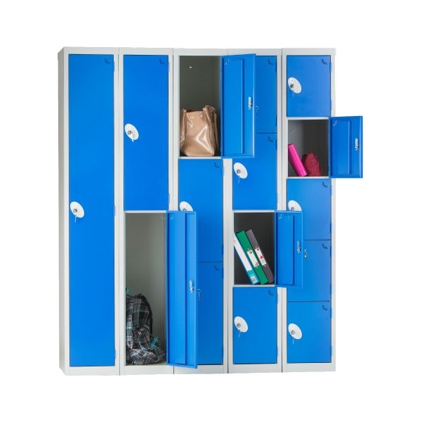 Fully Welded Compartment Lockers