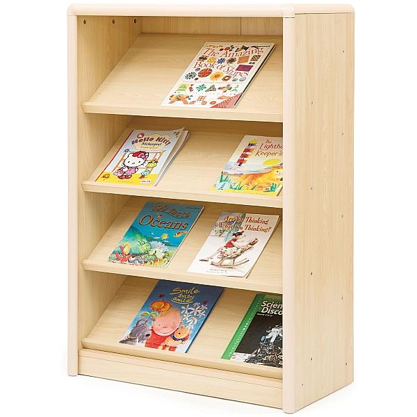 Elegant Sloping Classroom Bookcase