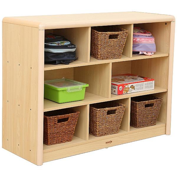Elegant 8 Compartment Classroom Storage Unit