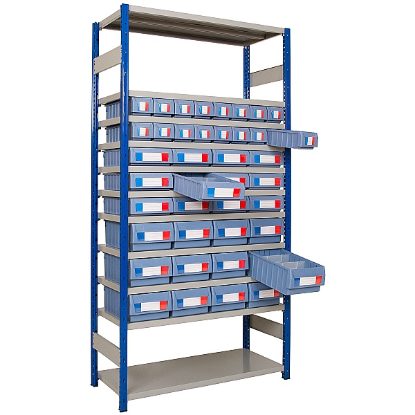 Clip-Fit Boltless Shelving and Tray Kit A