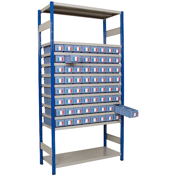 Clip-Fit Boltless Shelving and Tray Kit B