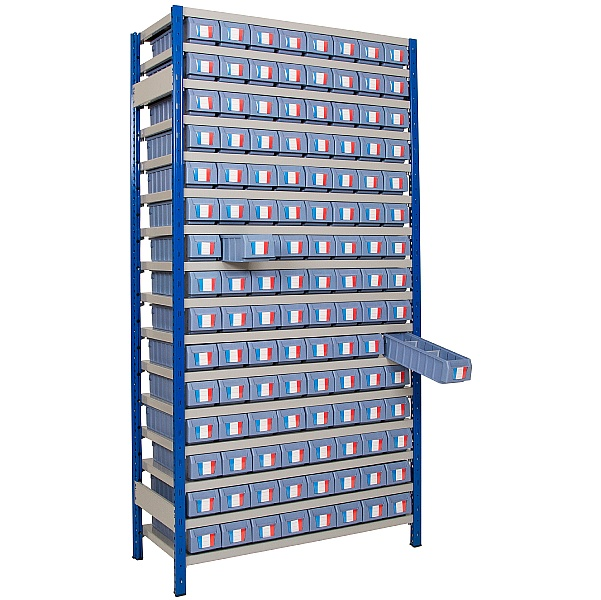 Clip-Fit Boltless Shelving and Tray Kit F
