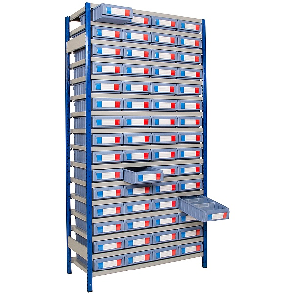 Clip-Fit Boltless Shelving and Tray Kit G
