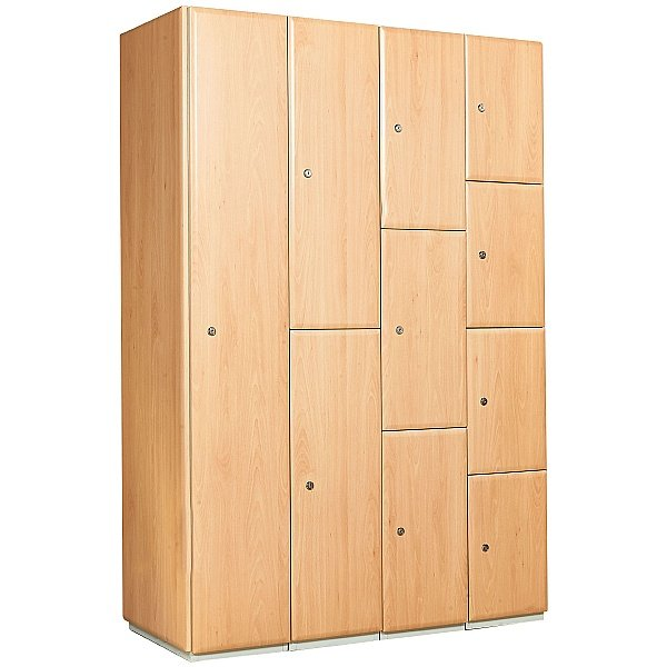 Select Wood Effect Lockers