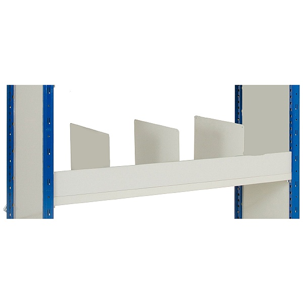 Bin Front for Clip-Fit Boltless Slotted Shelving System