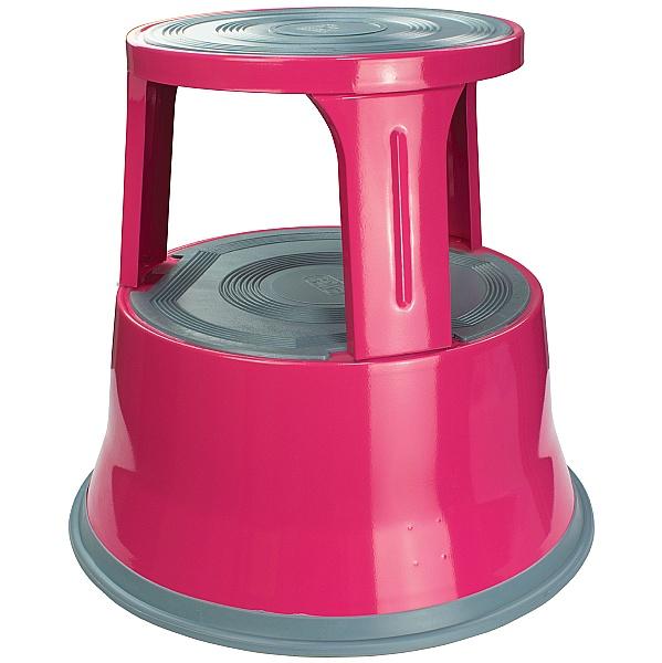 GS Premium Pink Steel Kick Step