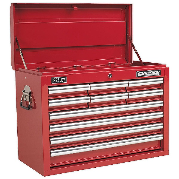Sealey Topchest With 10 Drawers And Ball Bearing Slides