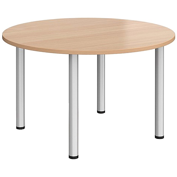 Everyday Tubular Leg Round Tables