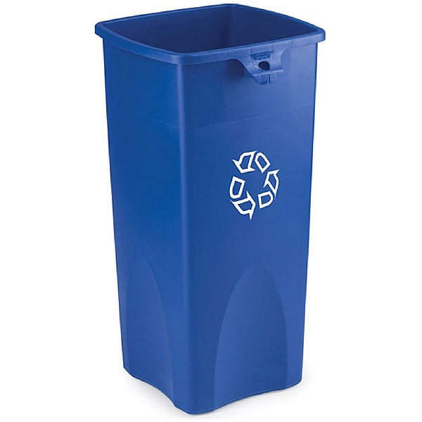 Untouchable Square Waste Container with Lids 87L