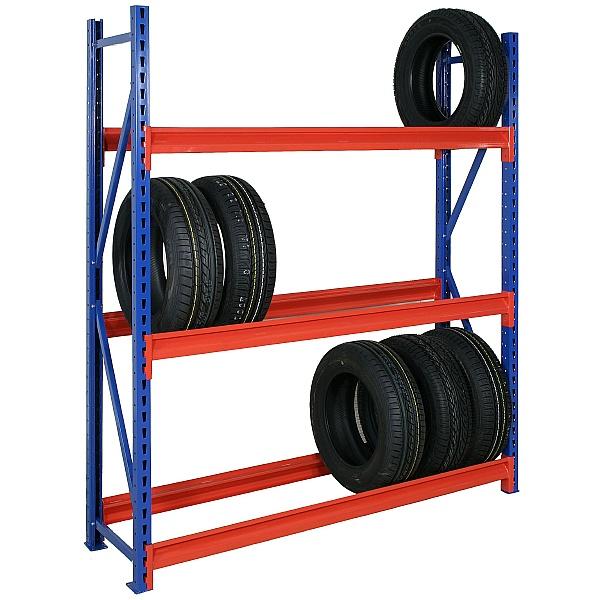 Heavy Duty Tyre Racking 3 Levels - 1830H x 457D