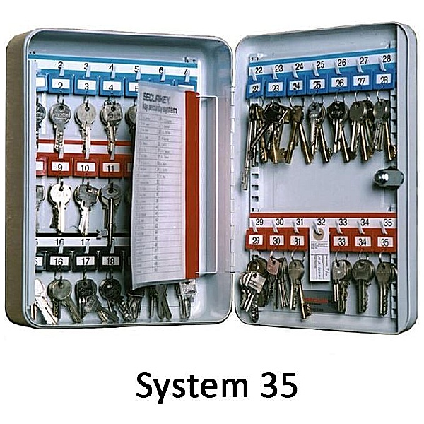 Securikey Deep System Key Cabinets