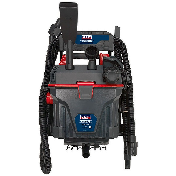 Sealey GV180WM 18L/1500W Wall Mounted Garage Wet & Dry Vacuum with Remote Control