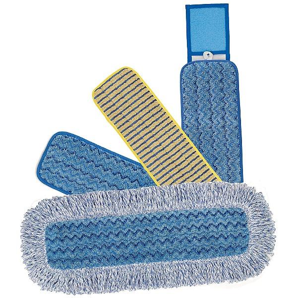 Rubbermaid Hygen Microfibre Damp Mops