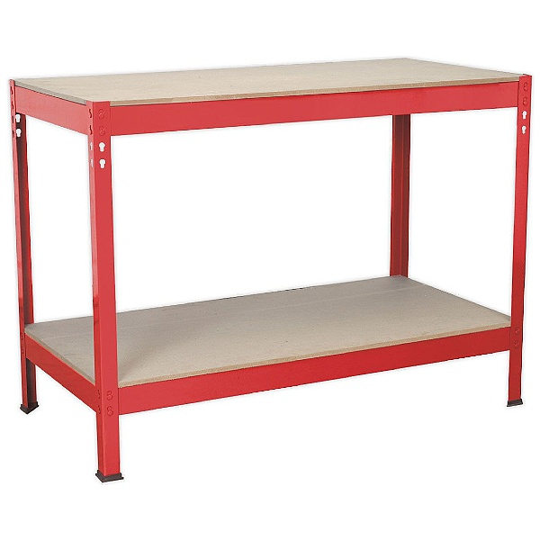Sealey Steel Workbenches With Wooden Top