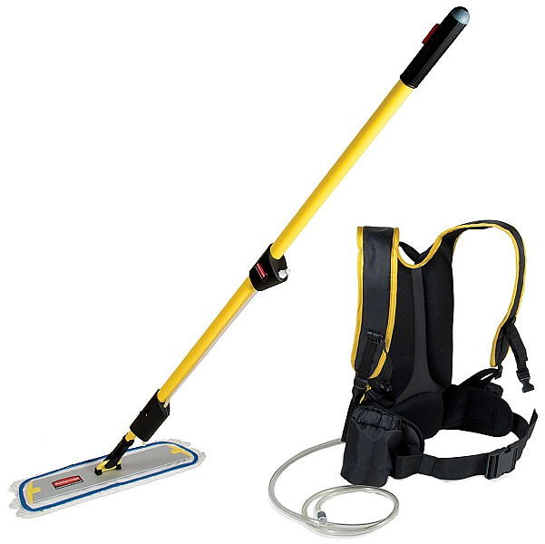 Rubbermaid Pulse Mop and Backpack Kit