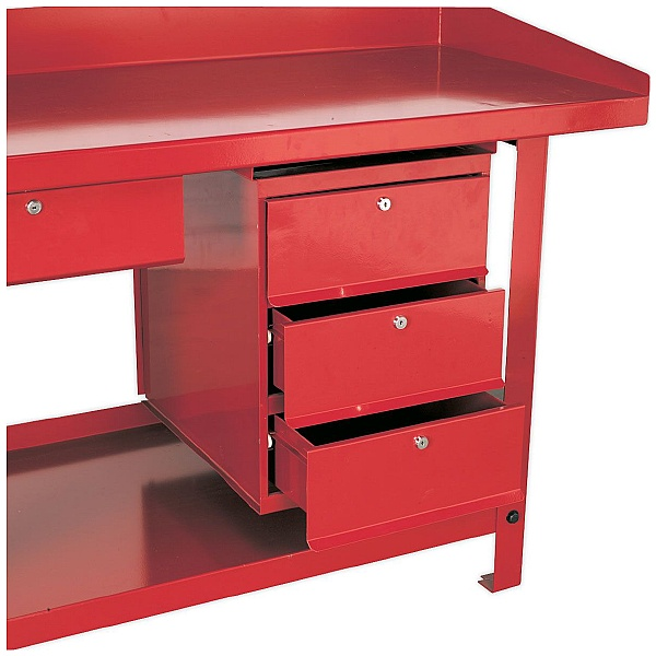 Sealey 3 Drawer Unit For AP10 & AP30 Steel Workbenches