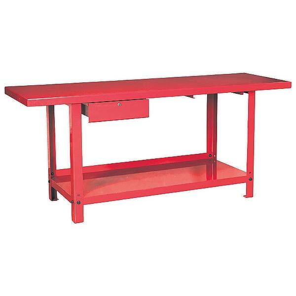 Sealey 2m Steel Workbench with 1 Drawer - 900Kg UDL