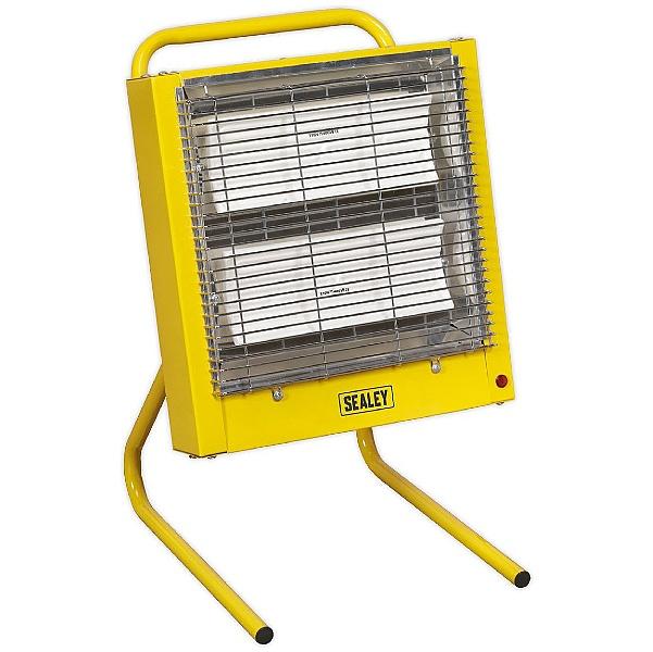Sealey 1.4/2.8kW 110V Ceramic Heaters