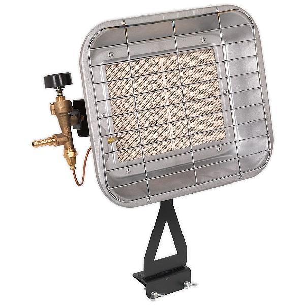 Sealey Propane Space Warmer Heater - 10,250 to 15,354Btu/hr