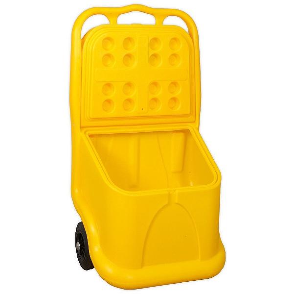 Sealey 75L Mobile Grit And Salt Cart