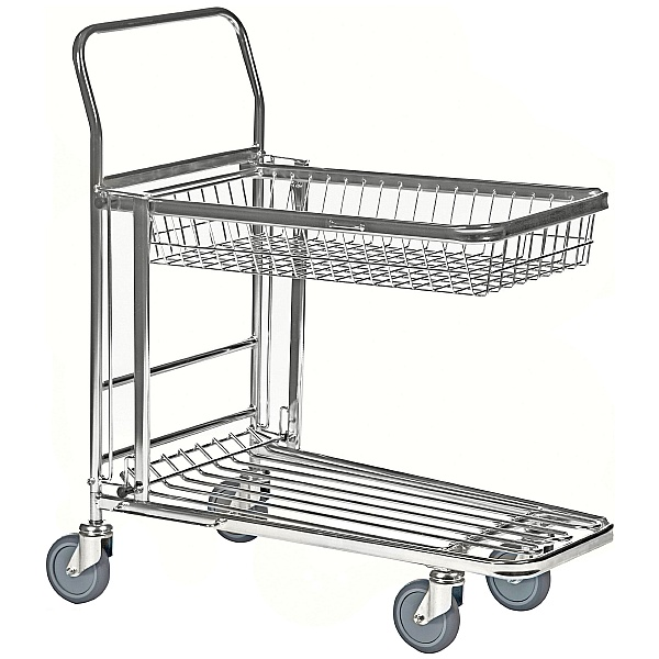 Konga Nesting Stock Trolley with Retracting Tray