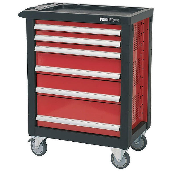 Sealey Premier 6 Drawer Rollcab With Ball Bearing Slides