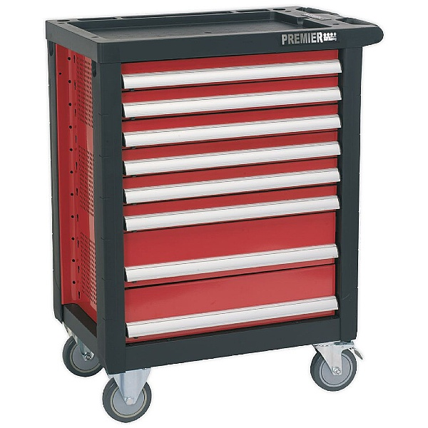 Sealey Premier 8 Drawer Rollcab With Ball Bearing Slides